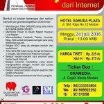Seminar Bisnis Online dan SEO di Medan