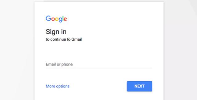 Log in ke akun gmail