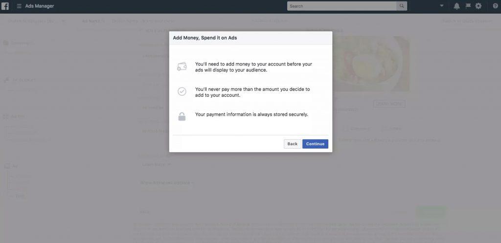 Metode Pembayaran di Facebook