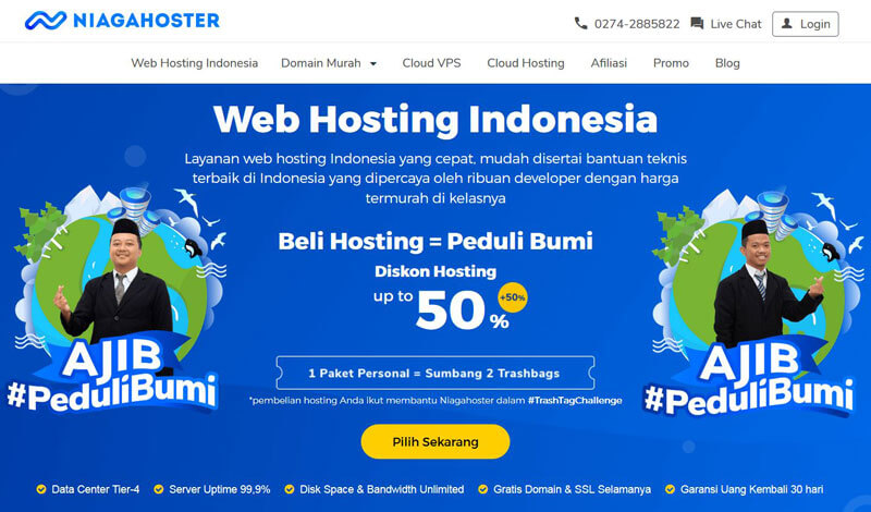 Niagahoster Review Web Hosting Murah Gratis Domain Ssl