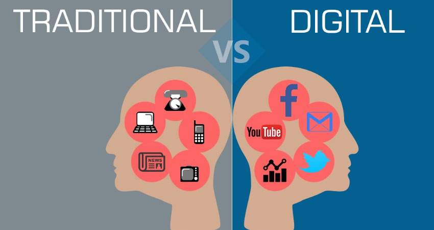 Marketing Tradisional Vs Digital