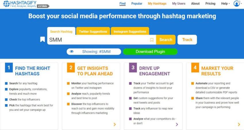 Tools Pencari Hashtag Instagram